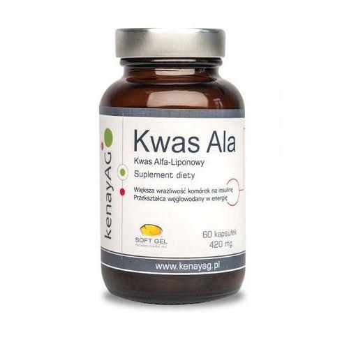Kenay Kwas ALA kwas Alfa-liponowy 60 kapsułek - suplement diety (5900672150858)