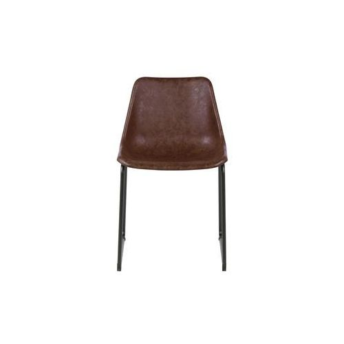 Woood Krzesło Set of 2 brązowe 375459-B, 375459-B