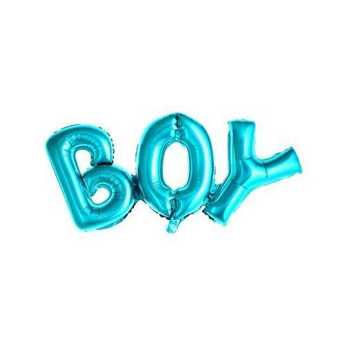 Oms Balon napis foliowy boy niebieski