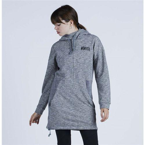 Bluza - boreal po hoody black (blk) marki Nikita