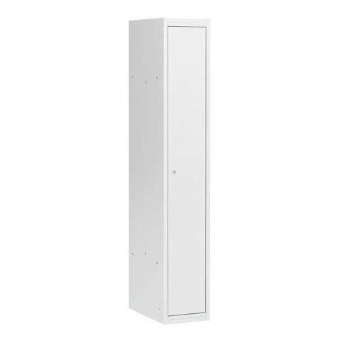 Aj produkty Szafa szatniowa coach, niezmontowana, 300 mm, 1 drzwi, szary/szary