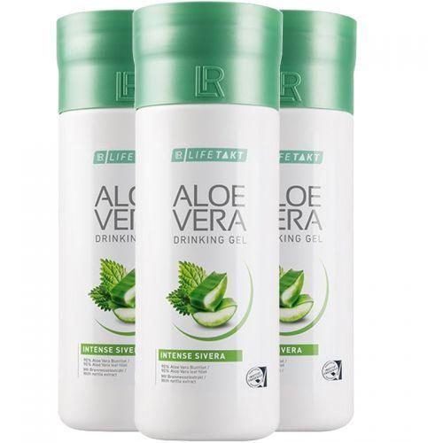Żel do picia Aloe Vera Aloes Sivera z pokrzywą 3pak