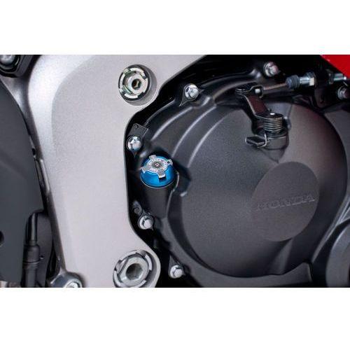 Puig Korek wlewu oleju  do motocykli honda / kawasaki / ducati (niebieski)