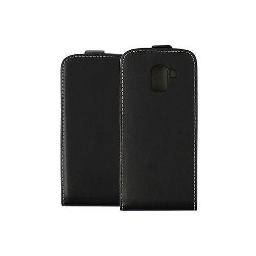 Samsung Galaxy J6 - etui na telefon Forcell Slim Flexi - czarny, kolor czarny