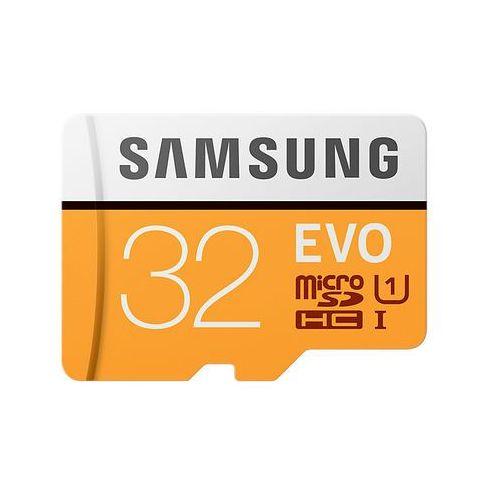 Karta MicroSD Samsung MB-MP32GA/EU EVO mSD +Adapter - MB-MP32GA/EU - MB-MP32GA/EU Darmowy odbiór w 20 miastach! (8806088676524)