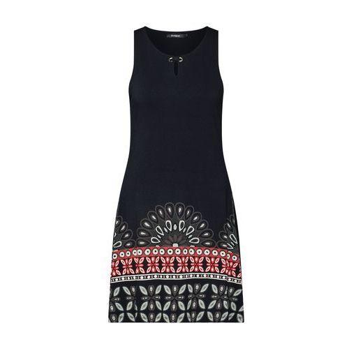 sukienka 'vest valery' mieszane kolory / czarny marki Desigual