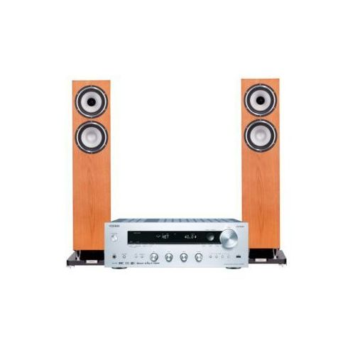 Onkyo Zestaw stereo tx-8270s + tannoy revolution xt 6 f dąb darmowy transport
