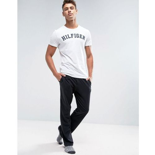 Tommy hilfiger  icon cotton pant in regular fit in black - black