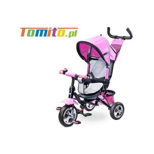 Rowerek trójkołowy Caretero Toyz Timmy Różowy