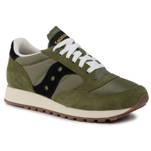 Sneakersy SAUCONY - Jazz Original Vintage S70368-88 Olv/Blk, kolor zielony