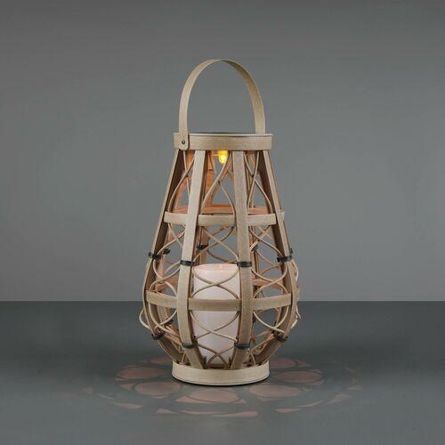 Trio rl vinto r55276144 lampa stojąca zewnętrzna 1x0,1w led beżowa (4017807492002)
