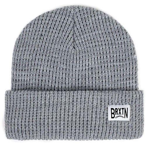 Brixton Czapka zimowa - langley beanie light heather grey (lhtgy) rozmiar: os