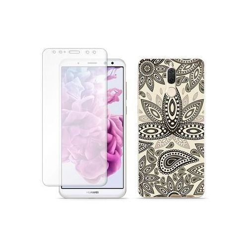Huawei Mate 10 Lite - etui na telefon Full Body Slim Fantastic - indyjskie wzory