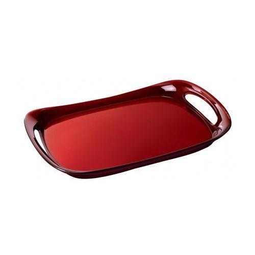 Taca Bugatti Glamour transparentna czerwona