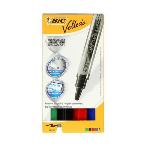 Bic Marker tablic 2.3mm 4kol okrągły