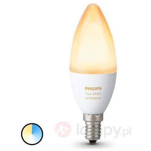 Philips Żarówka led hue, 929001301401, e14, 470 lm, 6 w, ciepły biały, biały neutralny, biały, zimny (8718696695203)