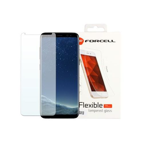 Samsung Galaxy S8 - szkło hartowane Forcell Flexible Glass