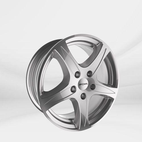 """Felgi Aluminiowe 15"""" RONAL 4X100 R56 – SREBRNY (4053881137446)"""