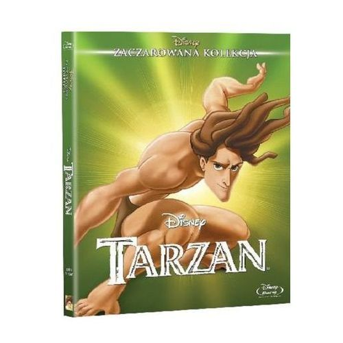 Tarzan (blu-ray) - chris buck, kevin lima darmowa dostawa kiosk ruchu marki Galapagos