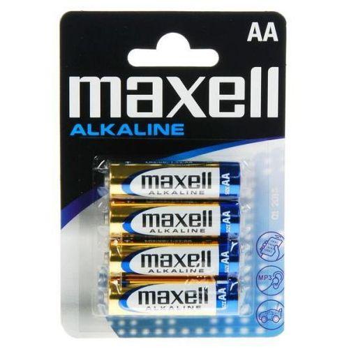 4 x bateria alkaliczna alkaline lr6/aa marki Maxell