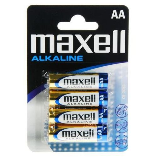 4 x bateria alkaliczna Maxell Alkaline LR6/AA, M32