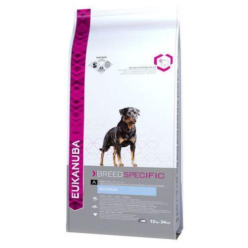 Eukanuba adult breed specific rottweiler - 12 kg| -5% rabat dla nowych klientów| dostawa gratis + promocje