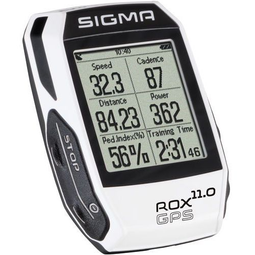 Sigma Licznik rowerowySigma ROX 11.0 GPS Set White (4016224010097)