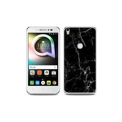 Alcatel Shine Lite - etui na telefon Fantastic Case - czarny marmur, ETAL431FNTCFC032000