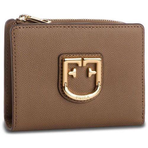 Furla Mały portfel damski - belvedere 1023252 p pbo5 q26 caramello f