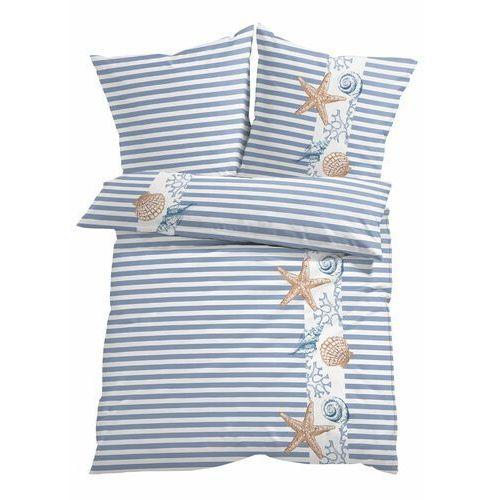 Bonprix Pościel w morskie motywy niebieski