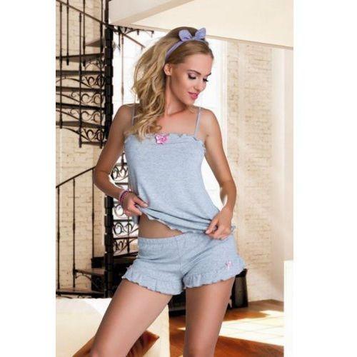 Piżama Damska Model Elian Grey, kolor szary