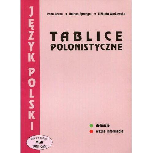 Tablice polonistyczne (OM) (9788388299216)