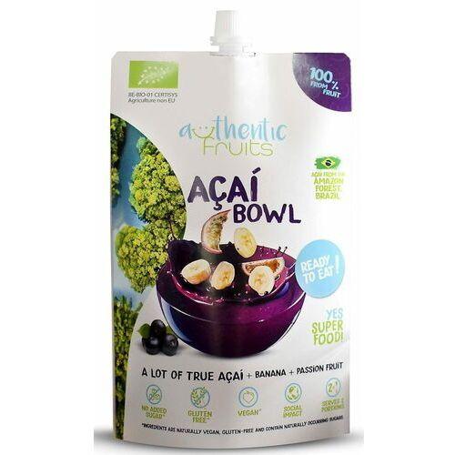 Przecier acai-banan-marakuja bezglutenowy bio 250 g - marki Authentic fruits