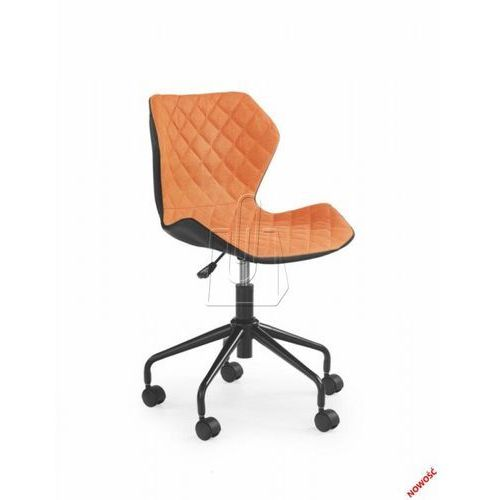 Halmar Fotel młodzieżowy  matrix pomarańczowy – dostawa gratis 24h