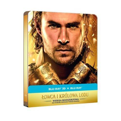 Filmostrada Łowca i królowa lodu 2d+3d steelbook - 35% rabatu na drugą książkę! (5902115602290)