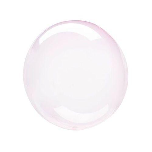 Balon kula krystaliczny jasny róż - 46 cm - 1 szt. (0026635828499)