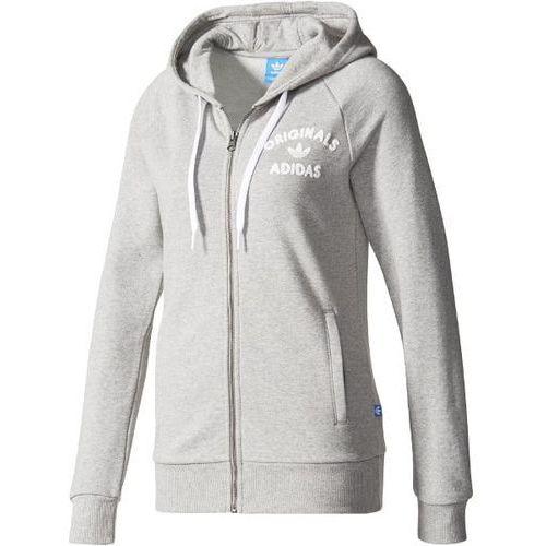 Adidas Essentials Linear damska bluza z kapturem, szary, s S97078