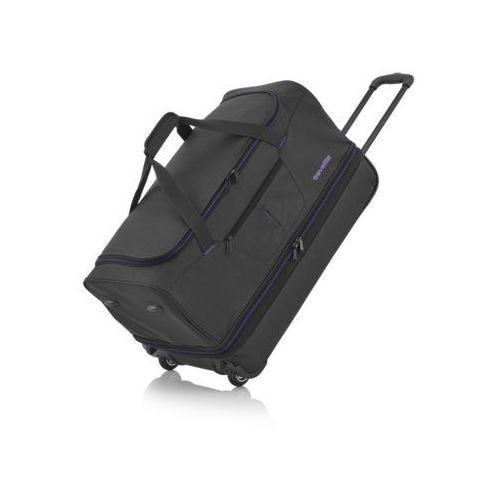 Basics duża torba podróżna poszerzana czarna