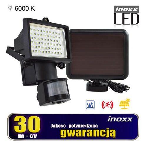 Inoxx Lampa solarna naświetlacz led 60 diod smd z czujnikiem ruchu i zmierzchu (5909182425722)