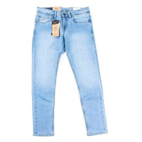 Reell Spodnie - spider light blue grey wash (light blue grey wash) rozmiar: 30/32