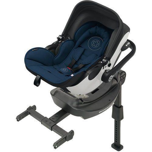KIDDY Evoluna i-size (0-13 kg) Fotelik samochodowy + baza ISOFIX 2017 – Night Blue (4009749352049)