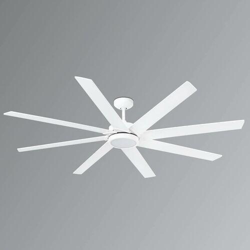 Lorefar (faro) 8-łopatkowy wentylator sufitowy led century, biały (8421776116863)