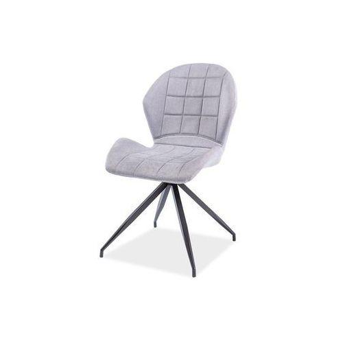 Krzesło - SIGNAL HALS II - jasno szary materiał - LOFT, Signal
