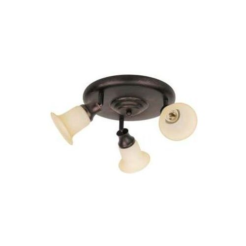 Rabalux Plafon lampa sufitowa spot claire 3x40w e14 brązowy 6067 (5998250360676)