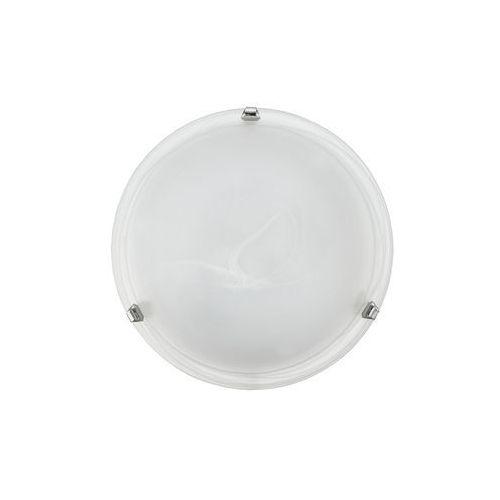 Eglo Plafon salome 7186 lampa oprawa sufitowa ścienna 1x60w e27 biały/chrom (9002759718602)