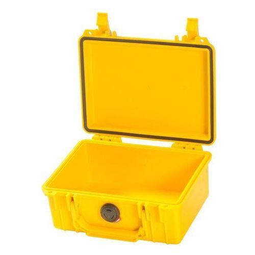 Peli ochronę walizka bez piany, żółty
