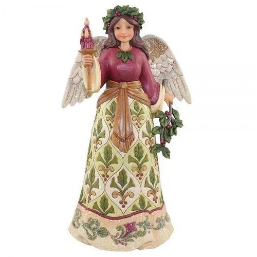 Anioł dobrych świąt jolly holly days (victorian angel) 4058755 figurka ozdoba świąteczna marki Jim shore