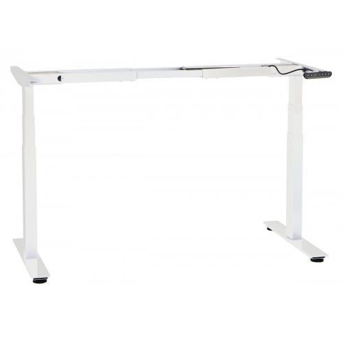 Stema-sun Dwusilnikowy stelaż metalowy biurka (stołu) z elektryczną regulacją wysokości, a103-2/t2/w, kolor biały
