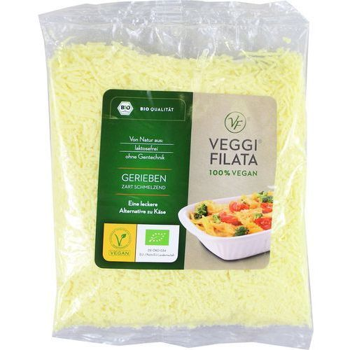 Veggie filata dystrybutor: bio planet s.a., wilkowa wieś 7, 05-084 les Produkt wegański a la ser tarty (2mm) bio 200 g - veggie filata