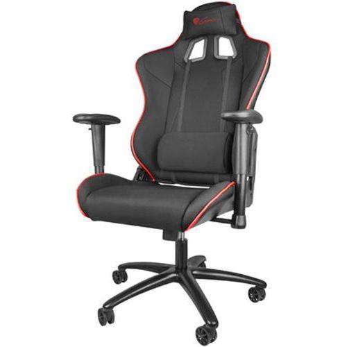 Natec Genesis fotel dla gracza nitro 770 czarny nfg-0910 - odbiór w 2000 punktach - salony, paczkomaty, stacje orlen (5901969407457) - OKAZJE